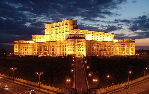Alojarse en Bucarest cerca del Palacio del Parlamento de Rumania