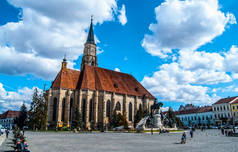 iglesia-san-miguel-cluj