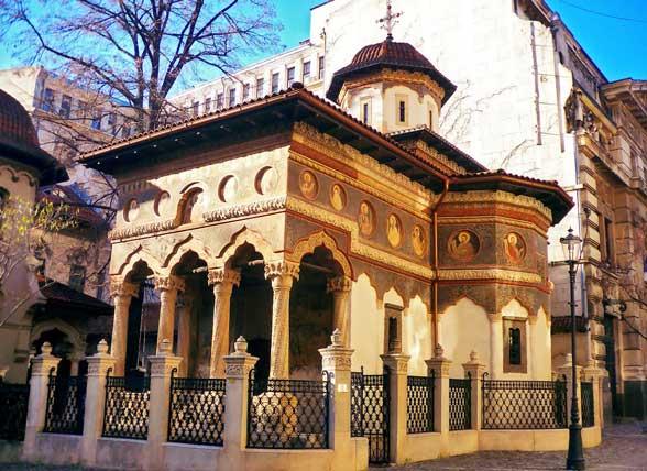 La Iglesia Stavropoleos