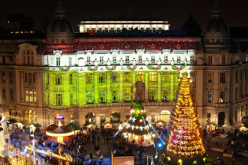 Mercado Navideño en Bucarest