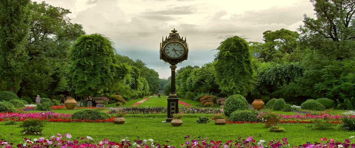 Parques y jardines de bucarest zonas verdes para for Parques y jardines