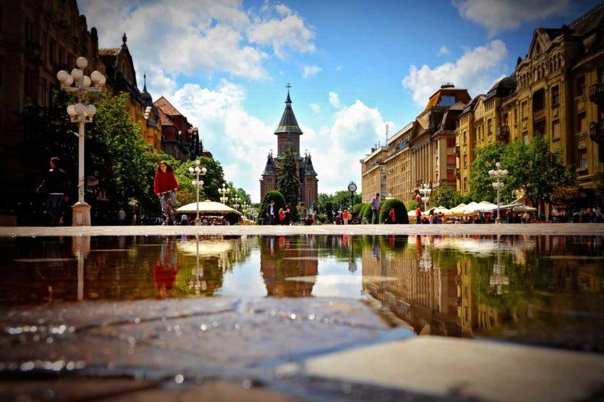Timisoara primera ciudad con luz electrica de Europa